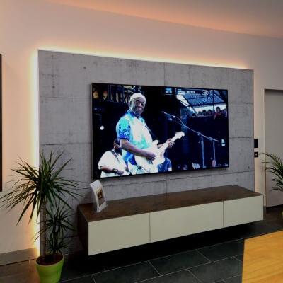 multimedia akustikwand